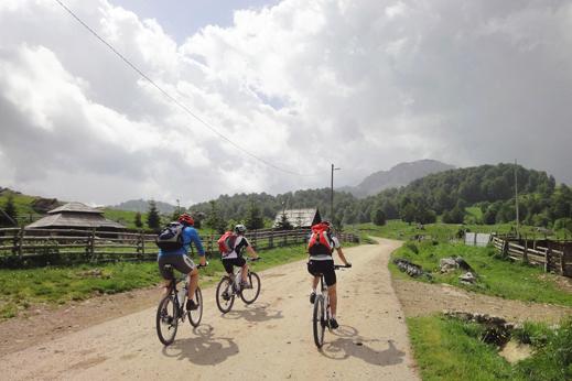 bosna s kolesom potovanje
