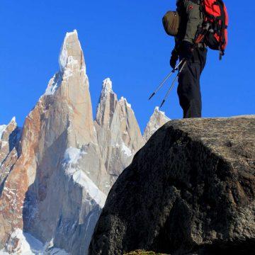 Pogled proti Cerru Torre, park Los Glaciares