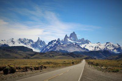 Cesta v El Chalten
