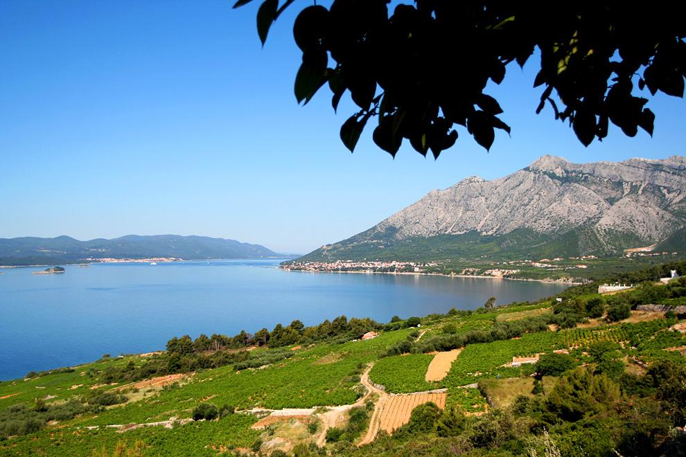 Pogled na Ilijo, najvišjo goro Dalmacije