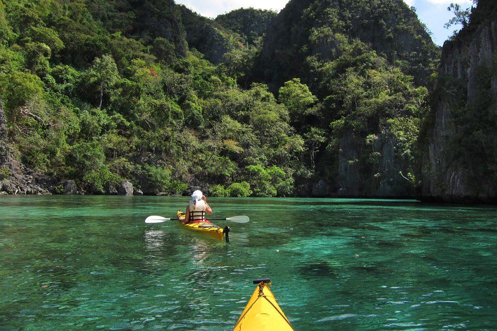 S kajaki po skritih kotičkih otoka Palawan