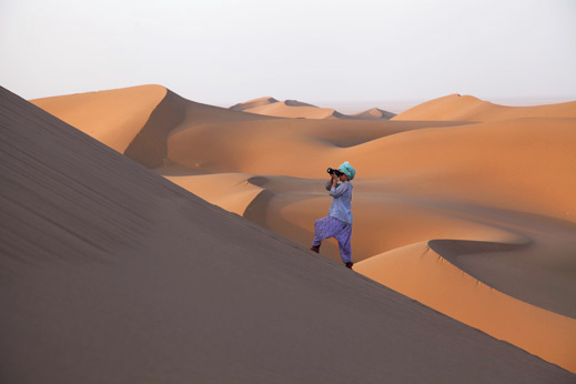 Potovanje Iran - puščava Dasht-e-Kavir