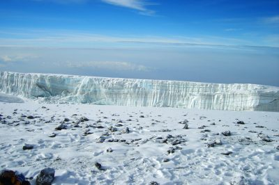 Imenitni ledeniki na vrhu Kilija