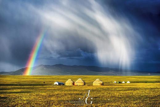 Treking Kirgizija. Jurte. Potovanje