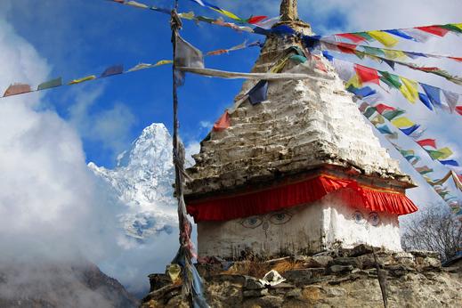 V Himalaji prevladuje budizem.