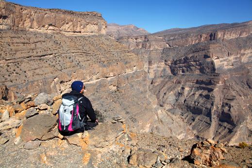 potovanje oman, hajarsko gorovje