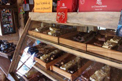 Nazaj v El Calafate - kjer je dobre čokolade vedno na pretek