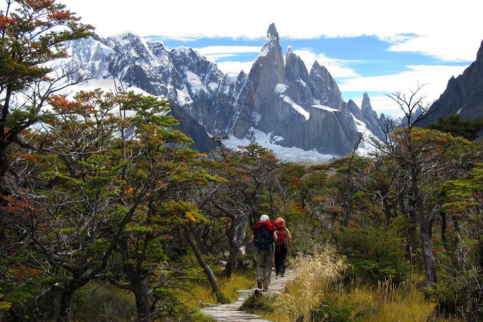 Približujemo se Cerru Torre, NP Los Glaciares