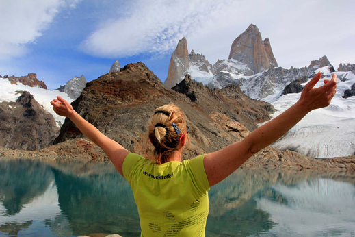 Treking Patagonija - Fitzroy oz. Chalten (3405 m) je najvišja gora Patagonije