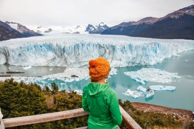 Pogled na ledenik Perito Moren0