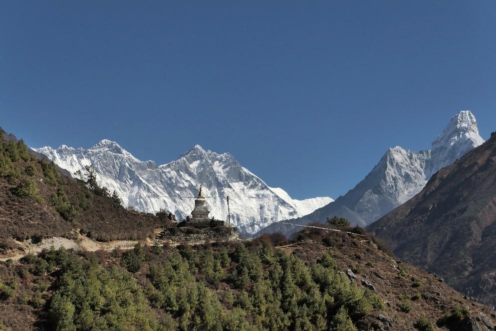 Pogledi segajo vse tja do Tibeta...