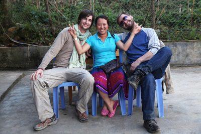 Chai z našima junakoma, Luko in Romanom