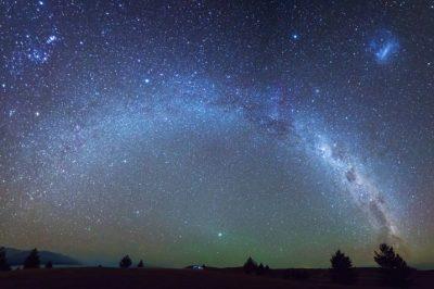 Rezervat nočnega neba ob jezeru Tekapo
