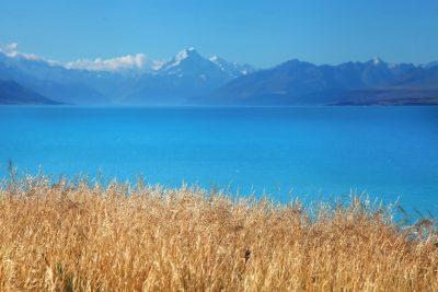 Turkizna jezera Južnega otoka