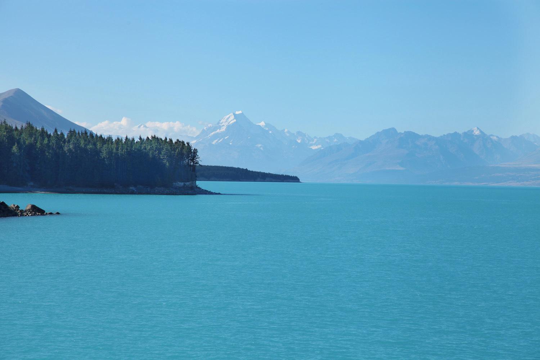 Na poti proti Mt. Cooku