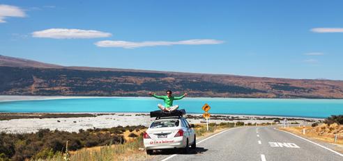 Nova Zelandija z avti