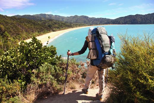 Abel Tasman predstavlja enega velikih trekingov na Novi Zelandiji.