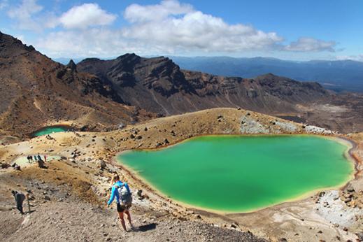Potovanje Nova Zelandija - Tongariro Alpine crossing - veliko prečenje vulkanov.