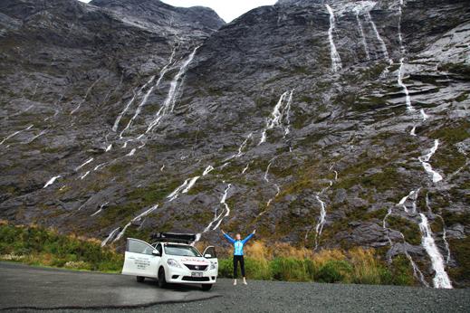 potovanje nova zelandija - fiordland