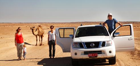 Oman z džipi I.