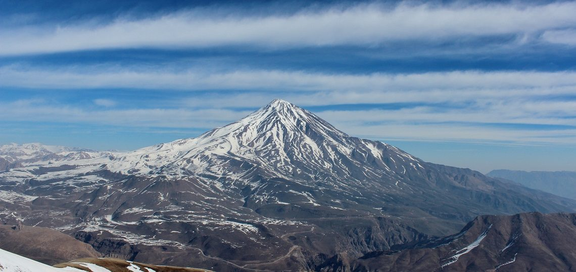 Treking Damavand, Iran