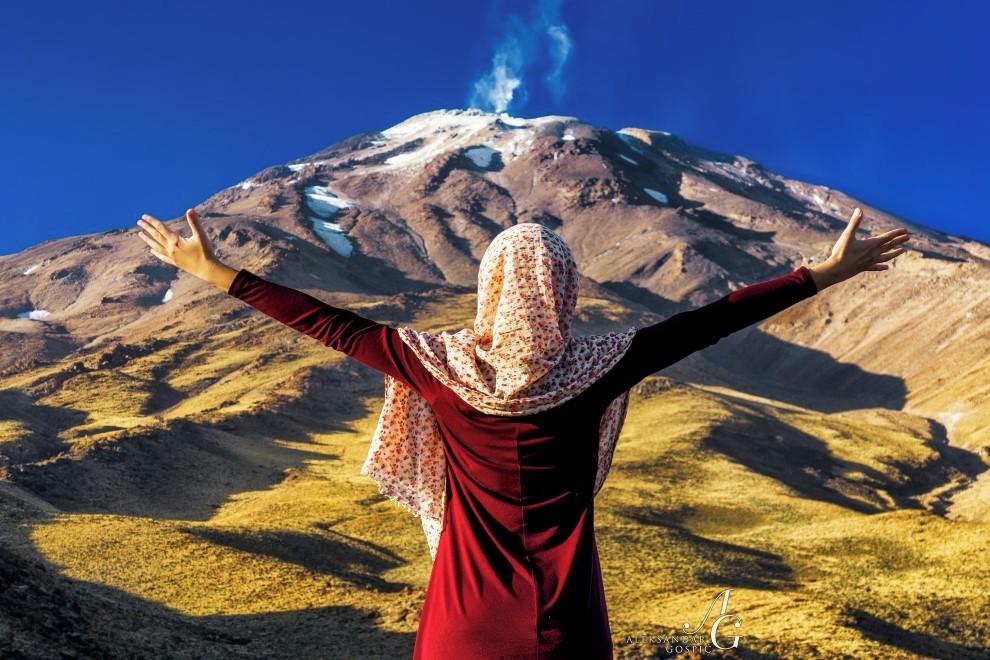 Mogočnost najvišje gore Bližnjega vzhoda je skozi stoletja navdihovala tudi perzijsko kulturo.