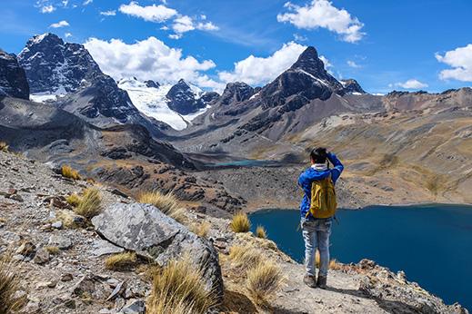 Na trekingu v Kordiljeri Real imamo veliko priložnosti za dobro fotografijo
