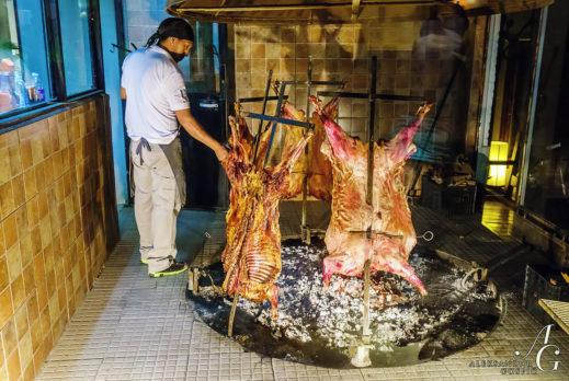 Potovanje Patagonija - način peke jagenjčka v Patagoniji