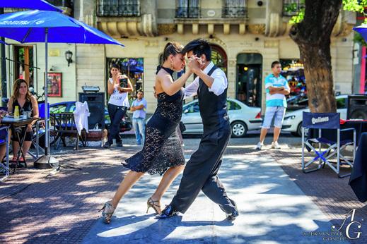 Tango na ulicah Buenos Airesa, San Telmo