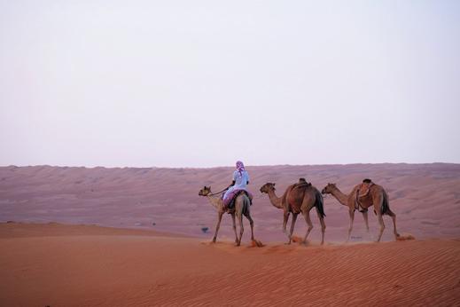 potovanje oman - puščava