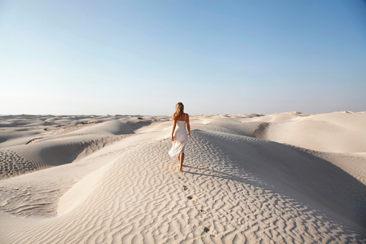 Khaluf, Bela puščava.
