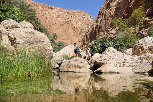 potovanje Oman - Wadi Shab