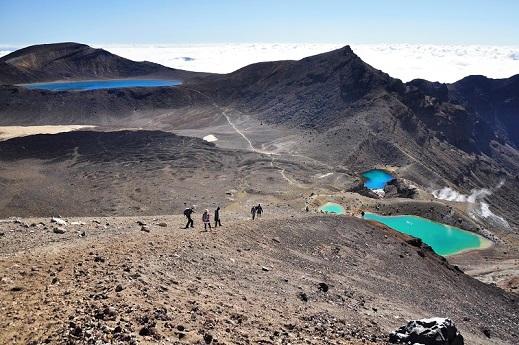 Gorsko prečenje Tongariro v deželi Gospodarja prstanov velja za najlepši enodnevni trek na svetu.