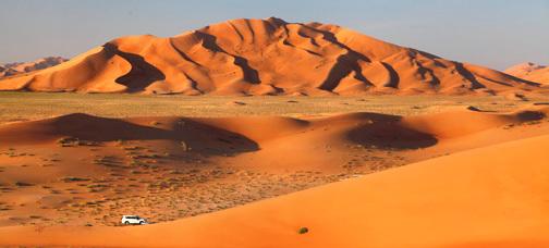Oman – Potovanje z  džipi