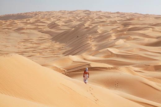 potovanje Oman, Rub Al Khali