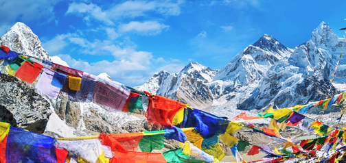 Nepal – treking Everest BC