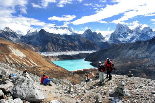 Gokijska jezer na treking Nepal - Everest BC
