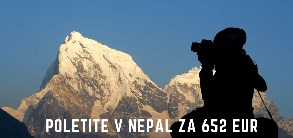POLETITE V NEPAL ZA 652 EUR