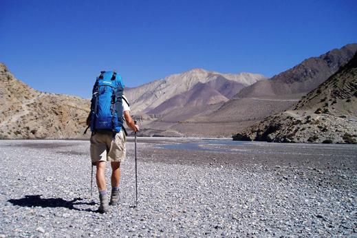 treking nepal mustang