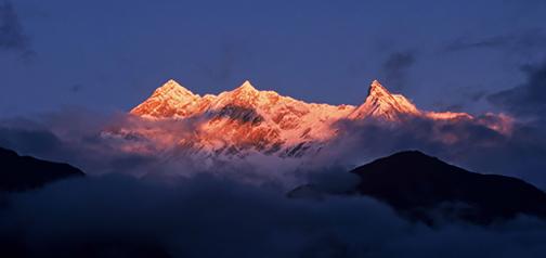 Nepal – treking Kopra