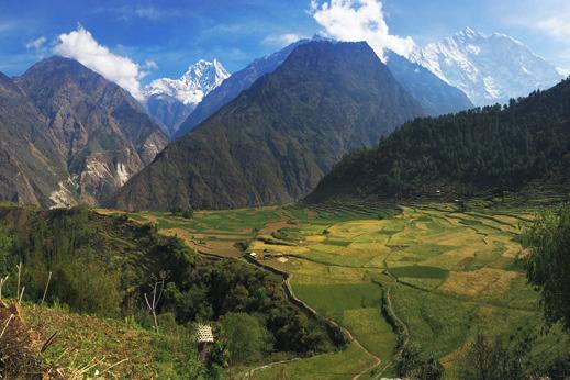 treking kopra nepal