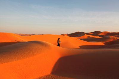 Srečanje z beduinom v puščavi