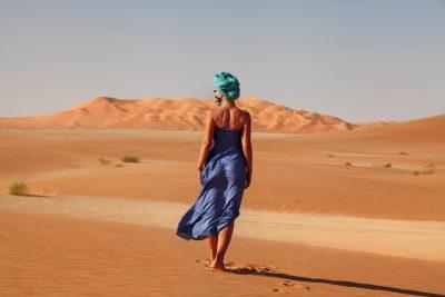 Puščava Empty Quarter oz. Rub al Khali