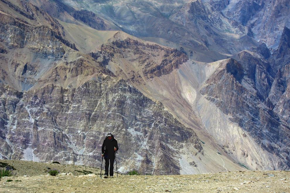 Večina našega treka poteka po divjih pokrajinah, ki jih turisti redko  obiščejo.