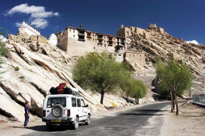 Kraljevsko mesto Šej v dolini Inda.