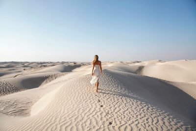 Bela puščava v Omanu