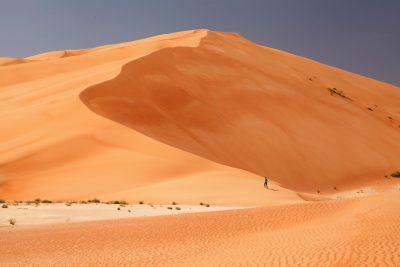 Puščava Rub al Khali v Omanu