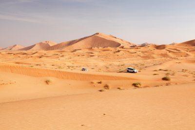 Rub al Khali - potovanje z džipi