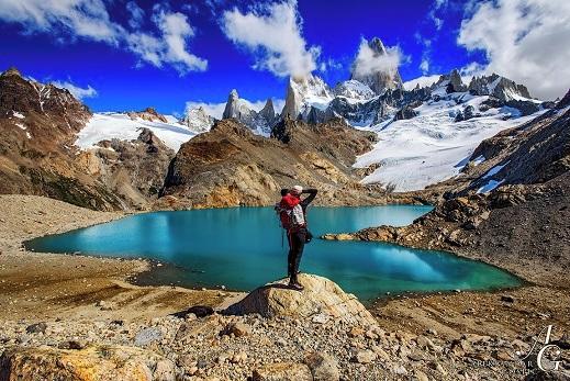 Pogled na izjemni Fitz Roy, Los Glaciares n.p.