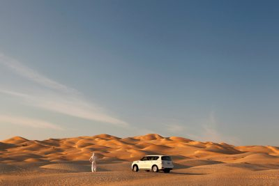 Na poti se veliko ustavljamo in se naužijemo lepot puščave